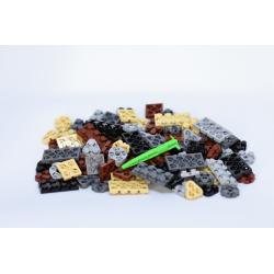 Flexo Mélange de briques couleurs neutres