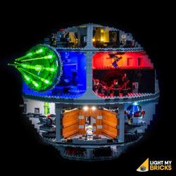 Kit lumières pour Lego 75159 Etoile de la mort
