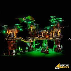 Kit lumières pour Lego 10236-Village des Ewoks