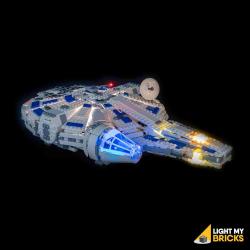 Kit lumières pour Lego 75212 Faucon Millenium Raid de Kessel