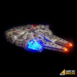 Kit lumières pour Lego 75105 Faucon Millenium
