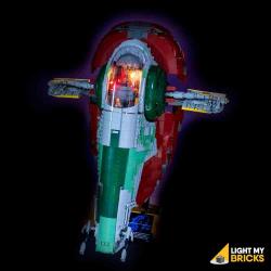 Kit lumière pour Lego 75060-Slave 1